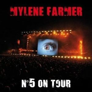CD VARIÉTÉ FRANÇAISE MYLENE FARMER – N° 5 On Tour – 2 CD