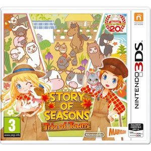 JEU 3DS Story of Seasons : Trio of Towns Jeu 3DS
