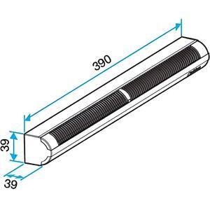VMC - ACCESSOIRES VMC Kit d'entrée d'air autoréglable acoustique Aldes 1