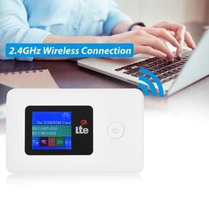 MODEM - ROUTEUR Routeur WiFi Modem 4G Type de Carte SIM 2.4GHz 150
