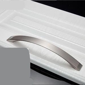 20x 128 mm Chrome arrondi D-Forme Poignée De Meuble Armoire Cabinet Cuisine