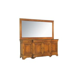 enfilade louis philippe achat vente enfilade louis philippe pas cher cdiscount. Black Bedroom Furniture Sets. Home Design Ideas
