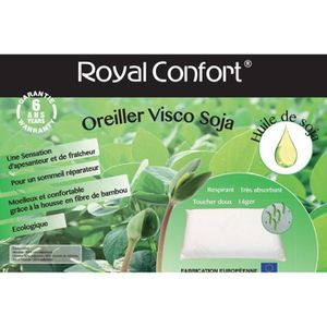oreiller visco soja royal confort Oreiller visco   Achat / Vente pas cher oreiller visco soja royal confort