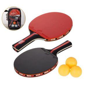 RAQUETTE TENNIS DE T. Raquette De Ping Pong, Set De Tennis De Table, 2 R