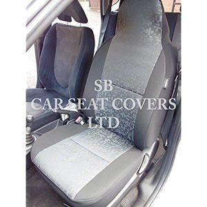 Audi A7 siège de voiture couvre hexagonale gris 2 fronts