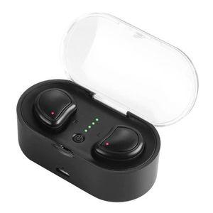 CASQUE - ÉCOUTEURS Véritable Sans Fil Bluetooth Écouteurs Stéréo Bina