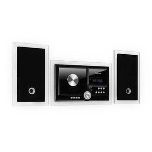 CHAINE HI-FI auna Système stereo noir