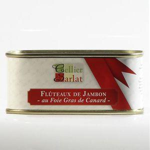 FOIE GRAS Flûteaux de Jambon au Foie gras 200g
