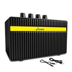 AMPLIFICATEUR Donner Mini Ampli pour Guitare 3 Watts avec Distor