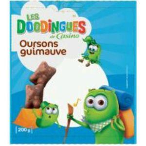 BONBONS CRÉMEUX CASINO Les Doodingues Oursons Guimauve 200g