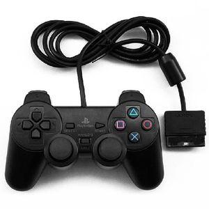MANETTE JEUX VIDÉO Shock Wired Controller double Vibration Gamepad po