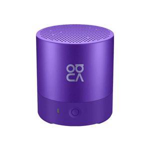 ENCEINTE NOMADE Mini Haut-parleur Bluetooth Violet Appel Portable