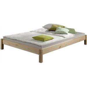 STRUCTURE DE LIT Lit futon simple pour adulte TAIFUN 120 x 200 cm,