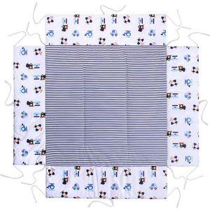 TAPIS - DALLES DE PARC  LULANDO Tour de parc avec tapis pour enfants, 100