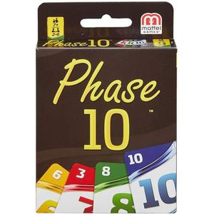JEU SOCIÉTÉ - PLATEAU MATTEL GAMES - Phase 10 - Jeu de Cartes inspiré du