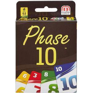 JEU SOCIÉTÉ - PLATEAU PHASE 10 Jeu de cartes inspiré du Rami - 2 à 6 jou