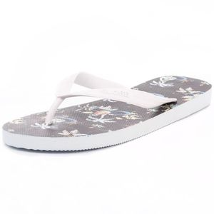 TONG Globe Pool Party Hommes Flip Flop Brown Multicolou