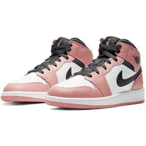 Jordan 1 pink quartz enfant
