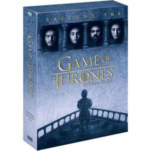 DVD SÉRIE Coffret DVD GAME OF THRONES : Saison 5 / Saison 6