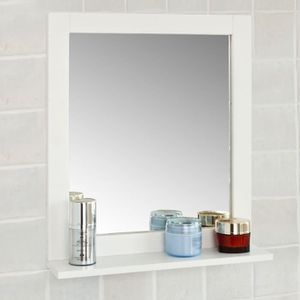 MIROIR SALLE DE BAIN SoBuy® FRG129-W Miroir Mural Meuble Salle de Bain