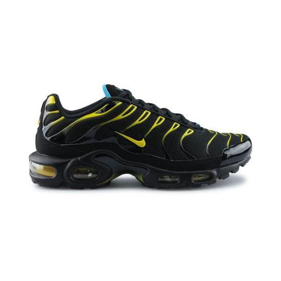 Nike Air Max Plus Tn Noir Noir/Jaune - Cdiscount Chaussures