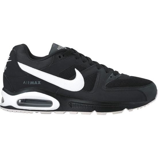 new style 71b05 95d64 NIKE Baskets Air Max Command - Homme - Noir et blanc