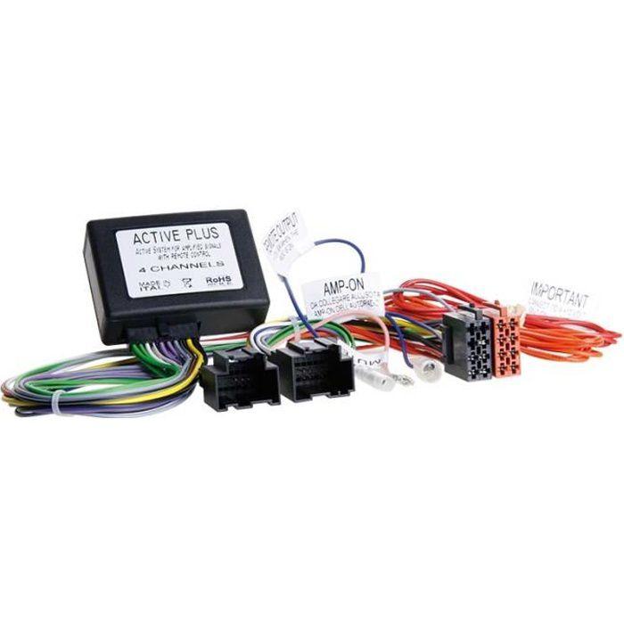 Adaptateur Systeme amplifié Saab 9-3 / 9-5 2006 >