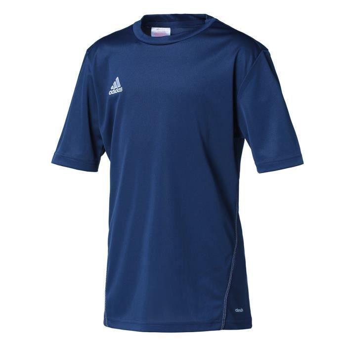 ADIDAS COREF TRG JS Y Maillot de foot junior - Bleu marine