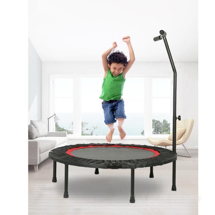 MIA Trampoline Fitness Pliable T-Bar 101 cm Trampoline de Gym pour Enfants et Adultes