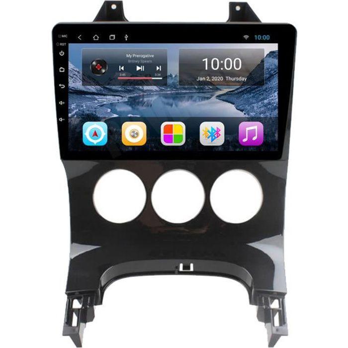 RoverOne Autoradio GPS Bluetooth pour Peugeot 3008 2009 - 2015 Android Stéréo Navigation Écran Tactile / Manuel Climatiseur