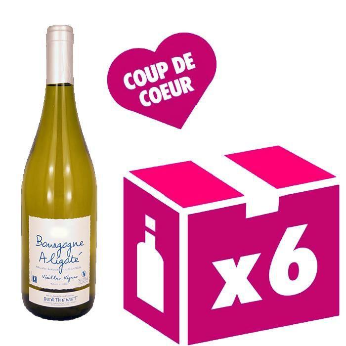 Aligoté vieilles vignes vin blanc 6x75cl Berthenet