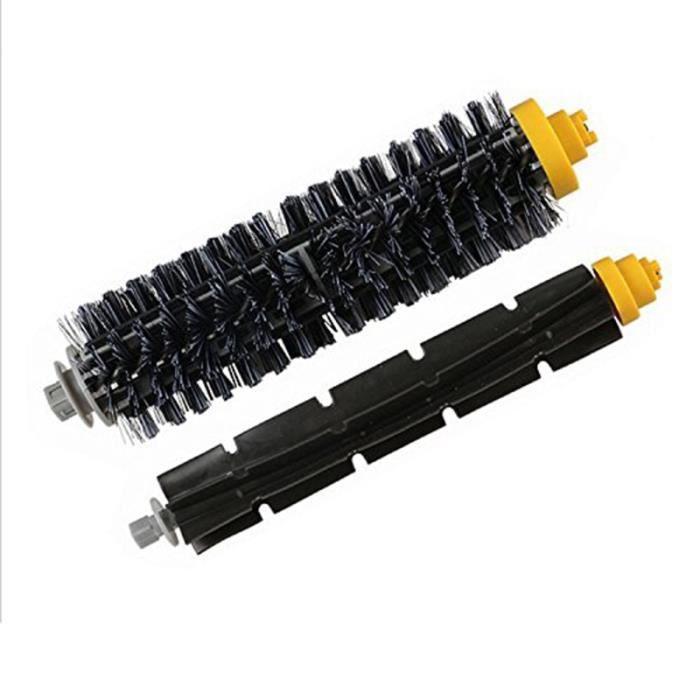 Brosse à rouleau, latérale centrale et filtre Hepa pour iRobot Roomba 600,pièces de rechange d'aspirateur robot series D -LP3236