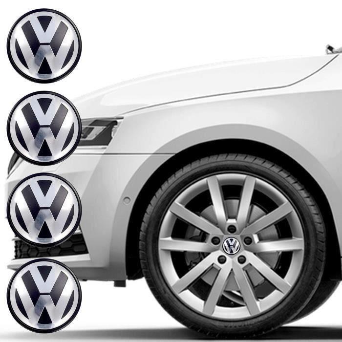 4×OD56mm Cache Centre MOYEU DE ROUE Pour Volkswagen ref:1J0 601171