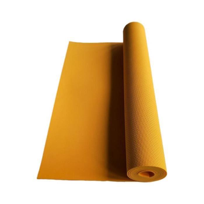 Équipement de forme physique Y98F de couverture de musculation d'exercice de tapis de Yoga d'eva antidérapant ép CC2346