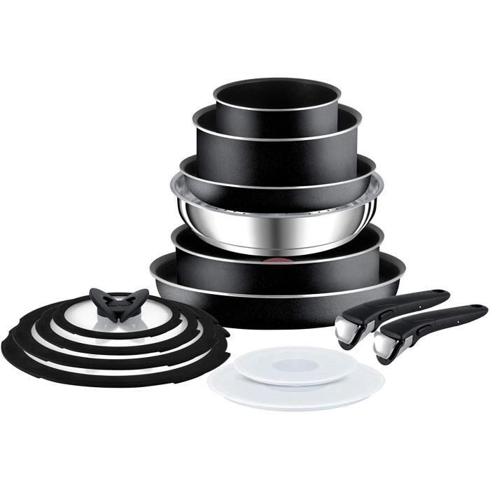 Tefal L2009542 Ingenio Essential Lot de 14 casseroles et casseroles Noir Non compatible avec plaques &agrave induction 31