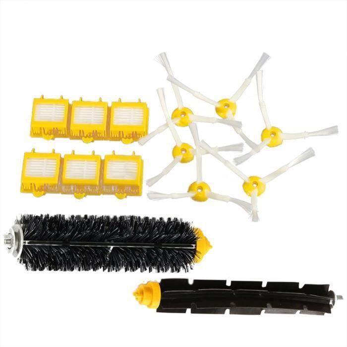 brosse Filtre cheveux Kit pour iRobot Roomba 700-760-770-780 QUIKF12963