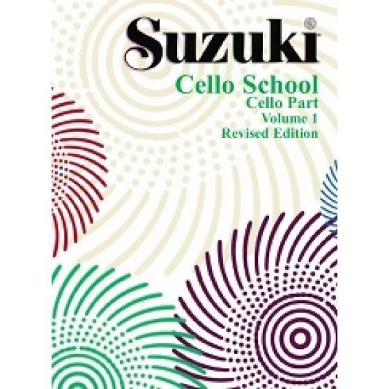 Cello School Volume 1, de Shinichi Suzuki - Recueil pour Violoncelle en Italien édité par Volonté e Co référencé : VOLMB41