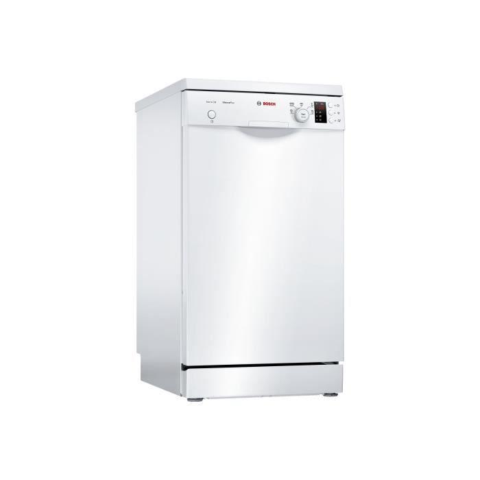 Bosch Serie 2 SPS25CW03E Lave-vaisselle pose libre largeur : 45 cm profondeur : 60 cm hauteur : 84.5 cm blanc