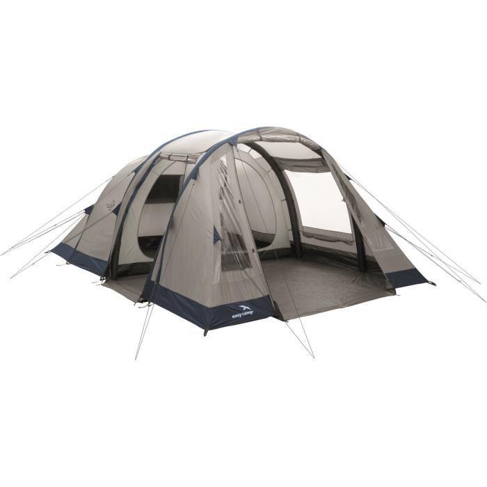 Easy Camp Tente gonflable Tempest 500 Gris et Bleu 120255