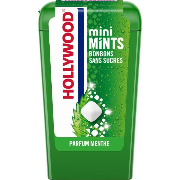 Hollywood Mini Mints parfum Menthe 12,5g