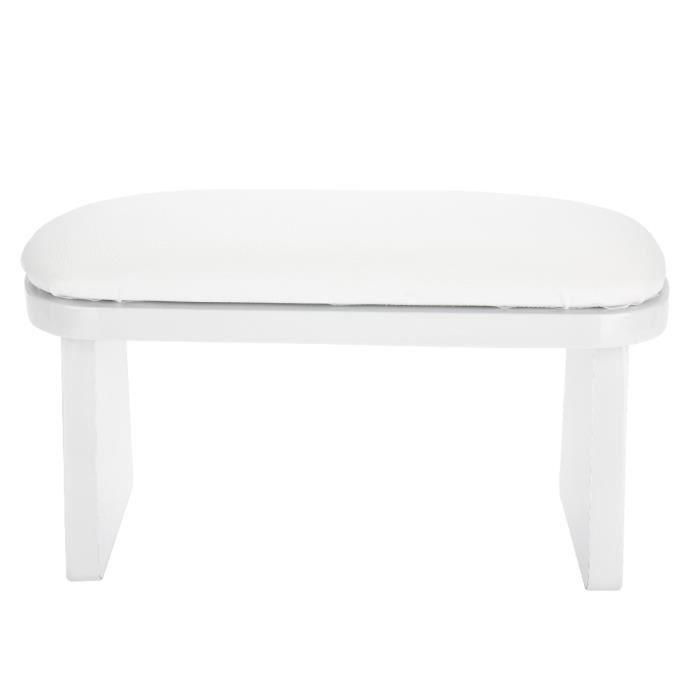 ♛Nail art manucure repose-main coussin pour accoudoir salon de manucure(blanc)-XIL5476♛