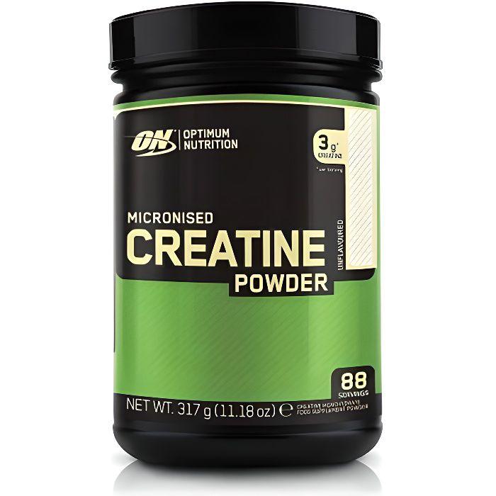 OPTIMUM NUTRITION Pot Créatine non aromatisée - 317g