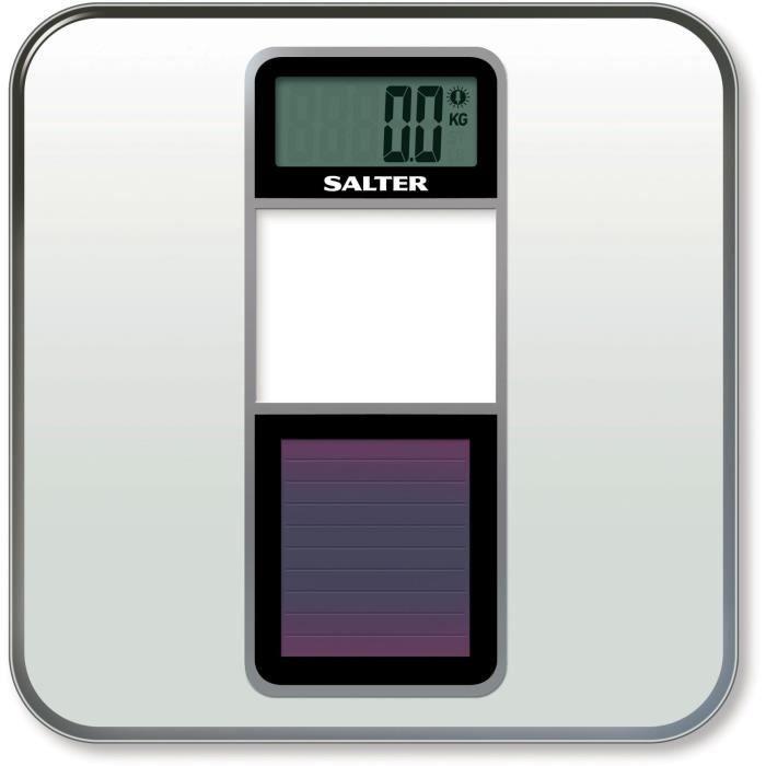 SALTER - 9068 WH3R - PESE PERSONNE SOLAIRE - GARANTIE 15 ANS