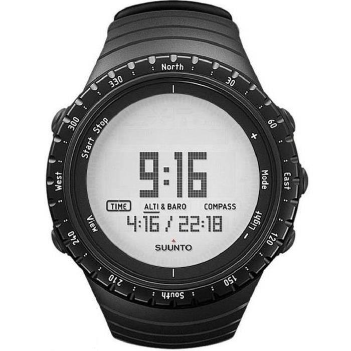 SUUNTO Montre GPS Core Regular - Noir
