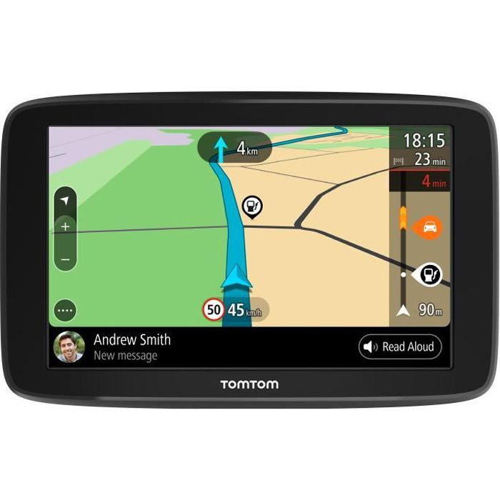 TomTom GO Basic 6'' - GPS auto 6 pouces, cartographie Europe 49, Wi-Fi intégré