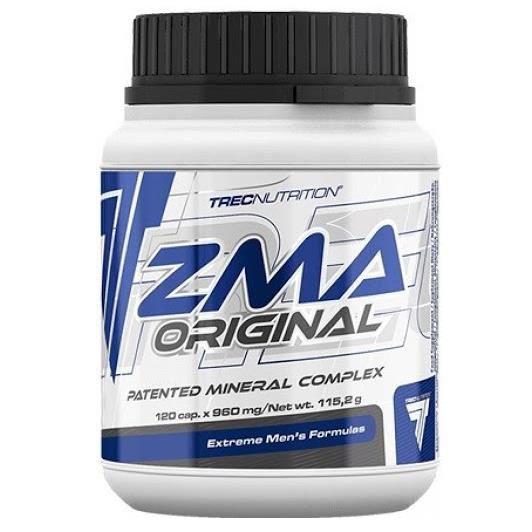 ZMA Original Trec Nutrition 120 Caps Zinc Magnésium Vitamine B6