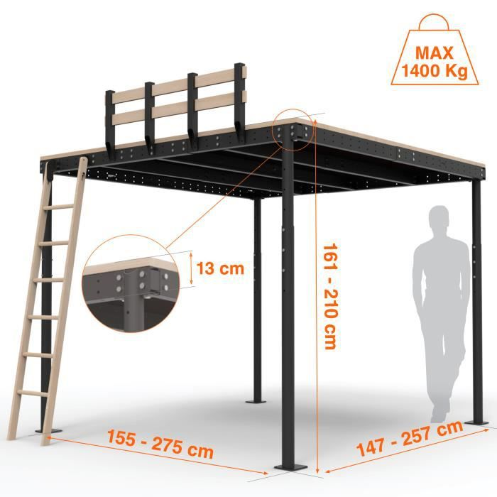 mezzanine en kit how to install a mezzanine kit youtube. Black Bedroom Furniture Sets. Home Design Ideas