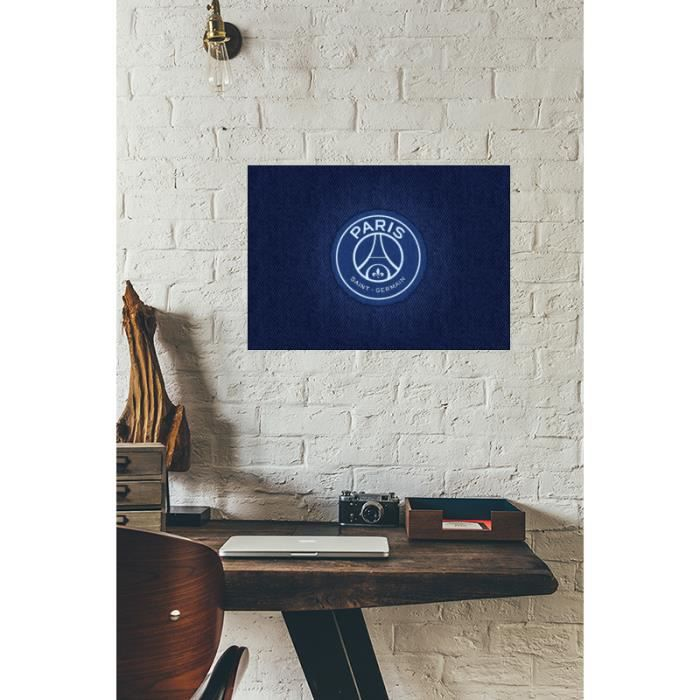 cadre d co en plexiglas pais 3mm psg paris saint germain achat vente tableau. Black Bedroom Furniture Sets. Home Design Ideas
