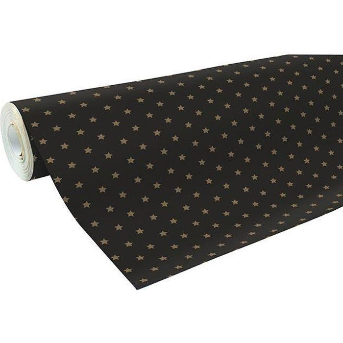 2 Rouleaux de 5 M Extra Large Papier Cadeau Rouleaux Cadeau Noël Anniversaire étoiles