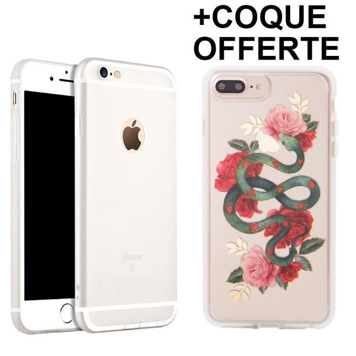 Coque iPhone 8 Silicone Mat Anti-Rayure Antichoc -